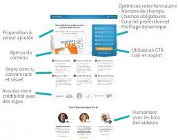 page de destination lead generation outbound marketing