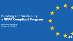 Building and Sustaining a GDPR Compliant Program